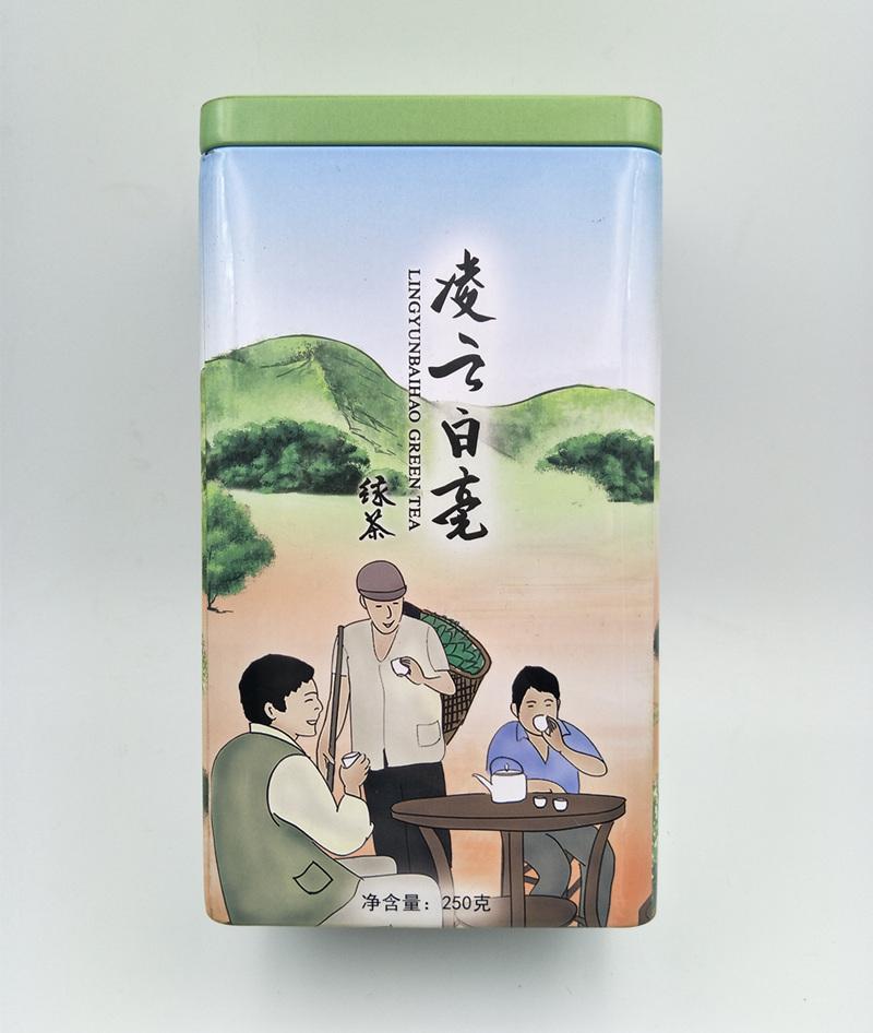 凌云白膏茶